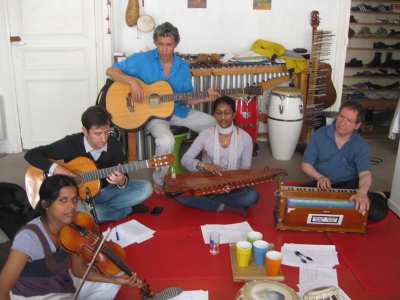Cours de sitar et chant