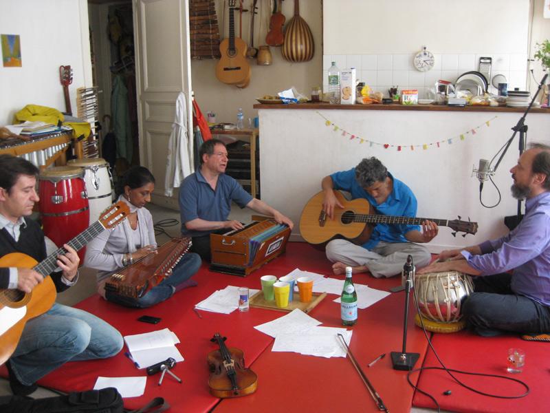Cours à Paris de musique indienne