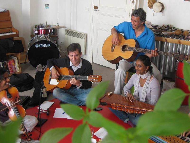 Chant musique d'Inde du nord
